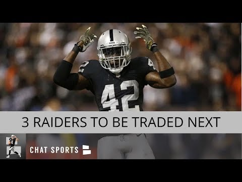 Raiders Trade Rumors: 3 Players Oakland Is Most Likely To Deal Before The NFL Trade Deadline