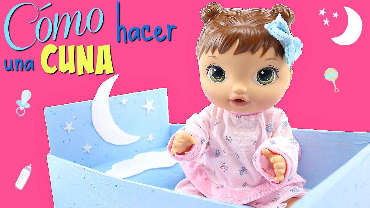 Cómo Hacer una Cuna para Muñecas Baby Alive • Accesorios para ...
