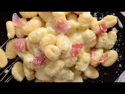 recette-:-gnocchis-aux-lardons
