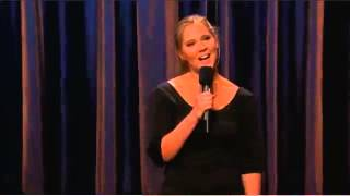 Amy Schumer -  Conan Obrien on TBS (Educational Fair Use)