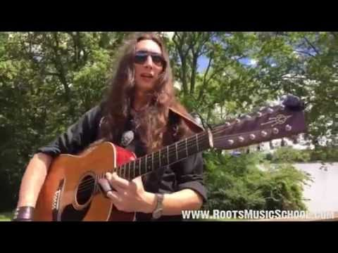 STREAM: Blues Pickin & Sliding on the 12String Guitar