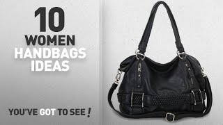 Top 10 Oversized Handbag [ Winter 2018 ]: MG Collection Samantha Weave Belt Hobo Handbag, Black, One