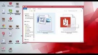 Comment transformer un fichier word en PDF ?