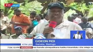 Seneta Gideon Moi ameongoza shughuli ya kugawa chakula cha msaada