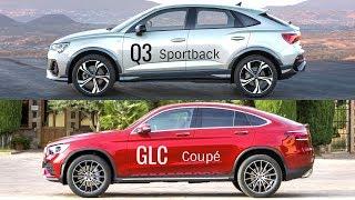 2020 Audi Q3 Sportback vs Mercedes GLC Coupé