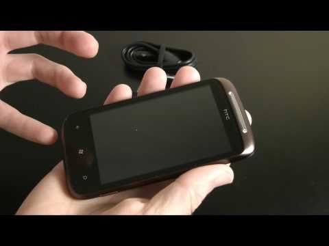 HTC 7 Mozart Windows Phone 7 - Unboxing & Product Tour