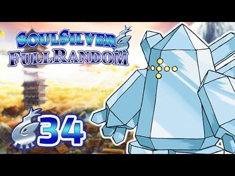 Pokémon Argent SoulSilver #34 FullRandom - Un bloc de glace !
