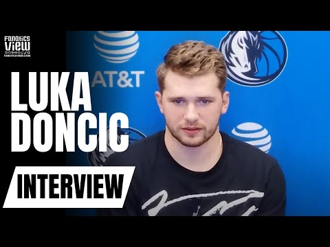 Luka Doncic Reacts to Damian Lillard's Insane 61 Point Performance & Questionable Calls vs. Portland