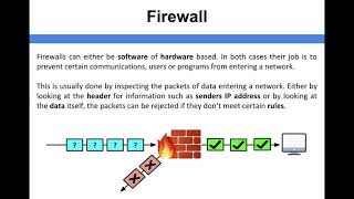 Network Security - Firewall