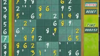 Game House Sudoku Online Level 10  6:30