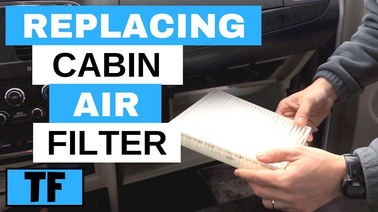 caravan filter cabin dodge air grand replace