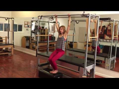 Pre-Pilates Shoulder Stability on the Cadillac Lesley Logan Pilates