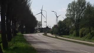 A1 10184 komt met spoed aan bij camping De Bongerd in Tuitjenhorn
