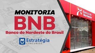 Concurso BNB: Monitoria Gratuita