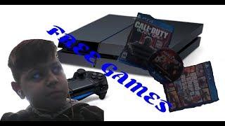 Toutoial (πως να κατεβάσετε δωρεάν games στο ps4)