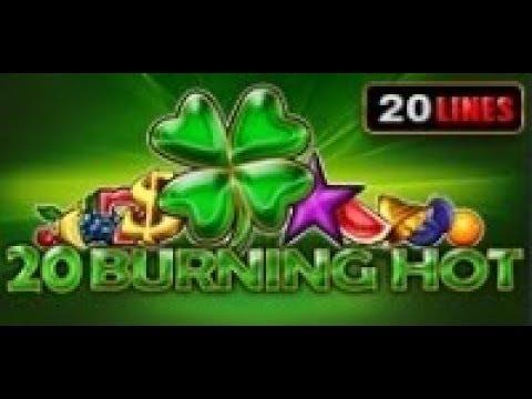 20 Burning Hot - Slot Machine - 20 Lines