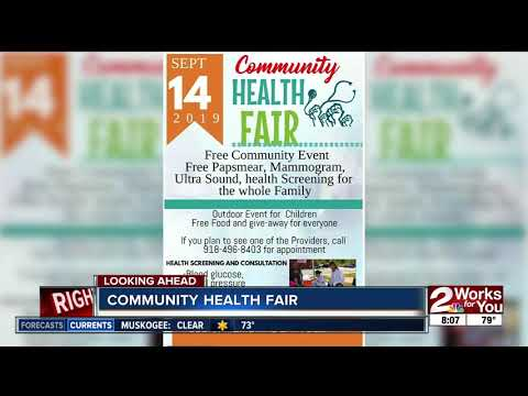 Free community health fair with screenings, mammogram, ultrasound and more on September 14 thumbnail