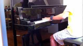 Caramelldansen Spedycakes remix Piano ウーウーウマウマ ピアノ