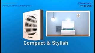 Exhaust Fan Panasonic Bathroom Type FV-10EGK dan FV-15EGK
