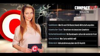 COMPACT TV Magazin: Krieg gegen die deutsche Wirtschaft