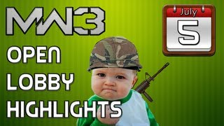 MW3: Open Lobby Highlights (July 5th)