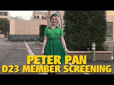 Peter Pan D23 Member Screening | Walt Disney Studios