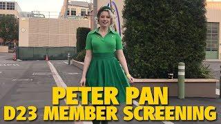 Peter Pan D23 Member Screening | Walt Disney Studios
