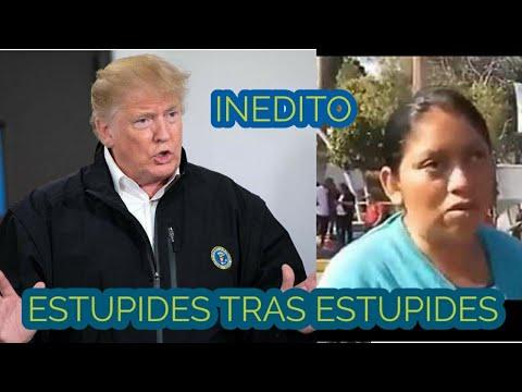 """ESTUPIDA MIGRANTE"" Dice Que La ""MAMA"" De Donald Trump Es ""HONDUREÑA""  (TERRIBLE TERRIBLE)"