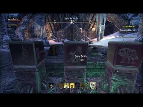 Elder Scrolls Online- PS4 Riekr Revenge Door Puzzle