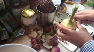 Как готовить и чистить АРТИШОКИ | готовит Аморе мио..))