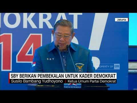 SBY Berikan Pembekalan Untuk Kader Demokrat