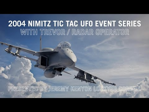 2004 Nimitz TIC TAC UFO Event Series / New Witness / Present