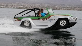 H2-GO! Amphibious Car Hits Speeds Of 45 mph On Water