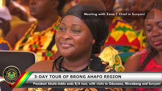 Day 3 of the 3-Day Tour of the Brong Ahafo Region