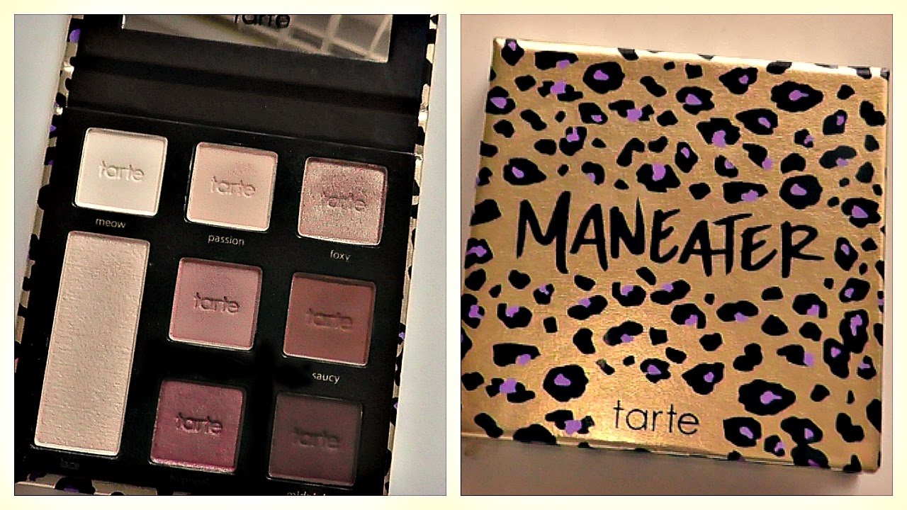 new tarte maneater eyeshadow