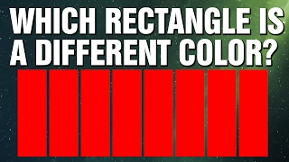 95% FAIL THIS EYE VISION COLOR TEST, WILL YOU?