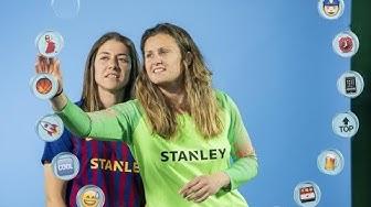 BARÇA EMOJIS   Vicky Losada & Sandra Paños