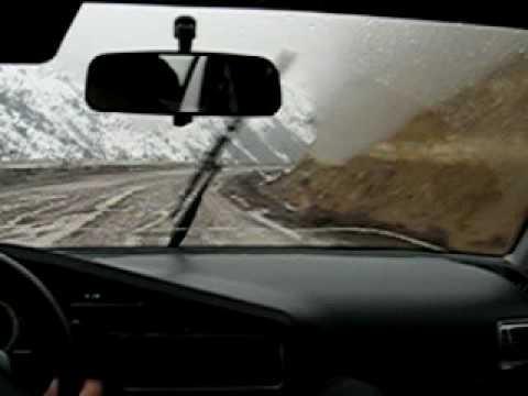 Rallye Uzbekistan: Andijan-Tashkent part 1   (route via slip Kamchyk on route A373)