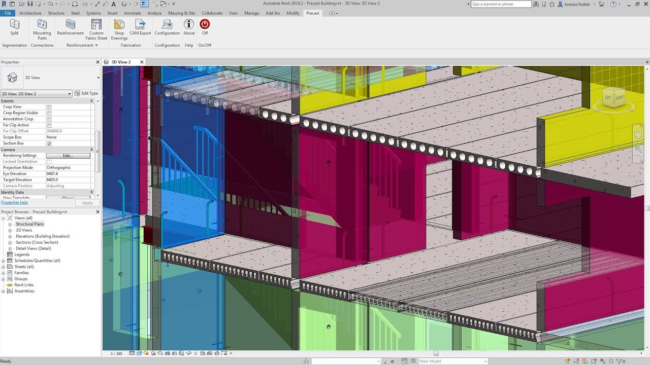 Revit 2019 2 new features connect data, cloud, and customers - Revit