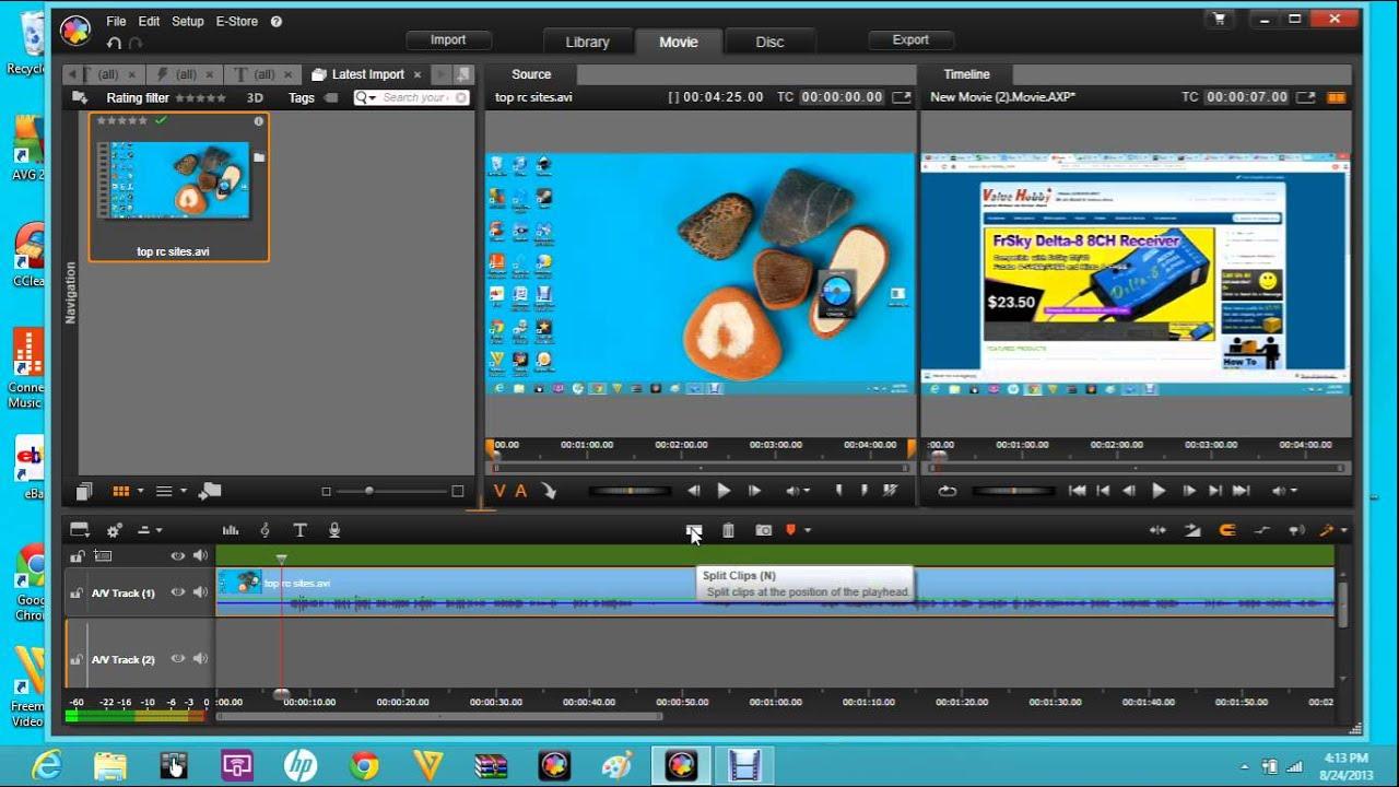 pinnacle studio 16 17 18 ultimate tutorial trimming cutting youtube rh youtube com pinnacle studio 16 ultimate tutorial pdf Pinnacle Studio 16 Ultimate Trial