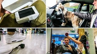 PUPPY, NEW iPHONE, HAIRCUT & FLYING!