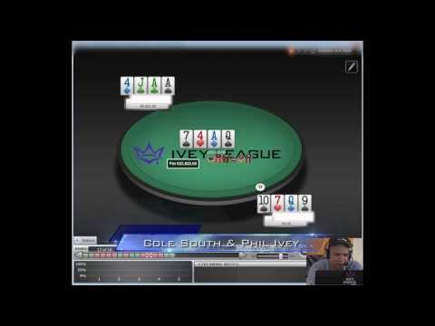 Ivey League - Phil Ivey and Cole South review Cole's hand history