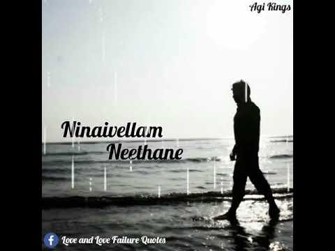Love sad || whatsup status video|| Kanavellam Neethanay Album Song lyrics