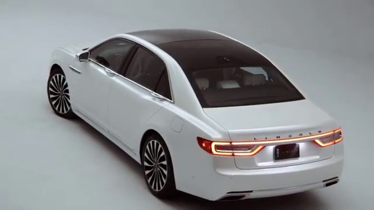 Lincoln Continental 2017 модельного года