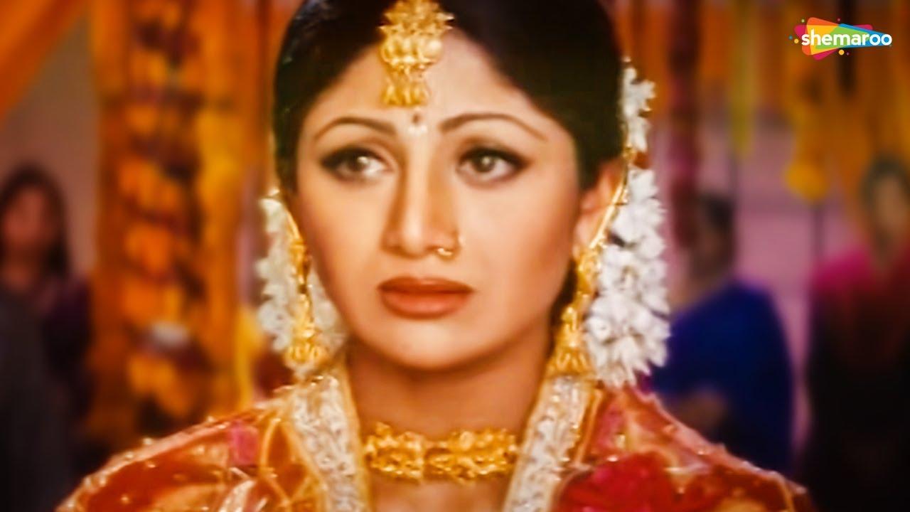 पड़ा जीना तेरे बिन | शिल्पा शेट्टी | रवीना | गोविंदा | Pardesi Babu - HD Video | 90s Hit Song