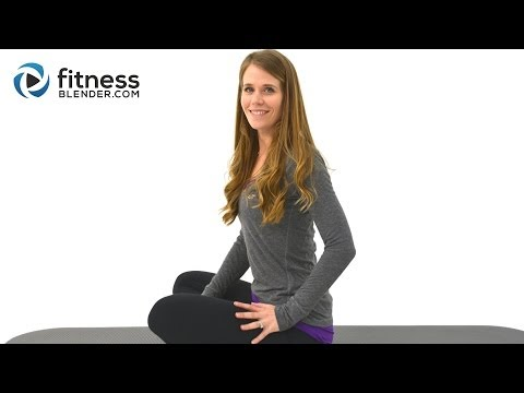 Stretching, Pilates, Yoga Workout Blend - Relaxing Stretching Routine to Relieve Stress & Back Pain