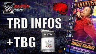 Halloween Fusionen? - TRD Infos - TBG Platin Pack | WWE SuperCard