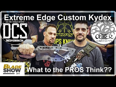 Extreme Edge Custom Kydex - What Do the Pro's Think?