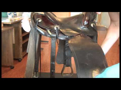 Reconditioning Saddles and Leather Articles - YouTube