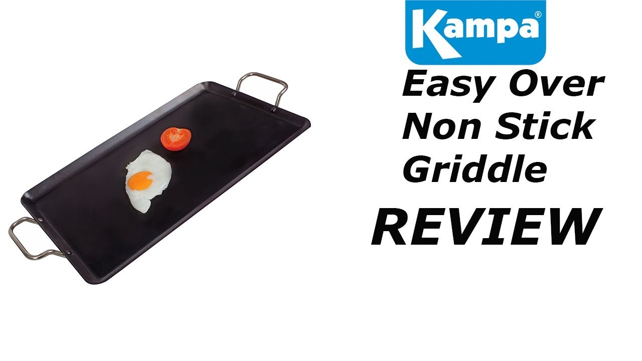 Kampa Easy Over Griddle - YouTube